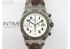 Royal Oak Offshore Safari JF Best Edition on Brown Leather Strap A7750