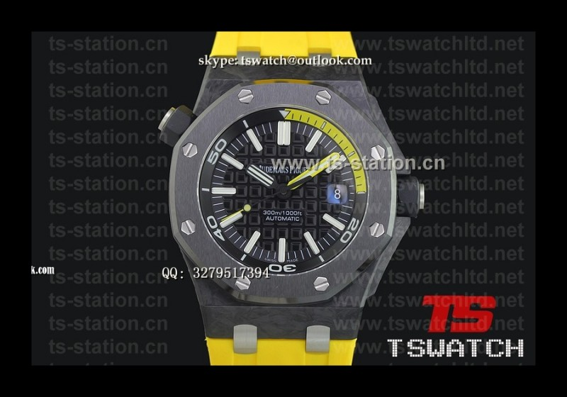 AP18945 - AP Royal Oak Offshore Diver 15706 Forged Carbon V6F 1:1 RU A3120