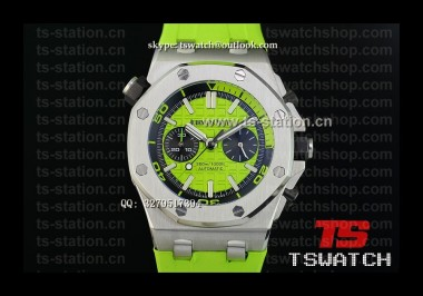 AP18999 - Royal Oak Offshore Diver Chronograph Green SS RU Japan Quartz