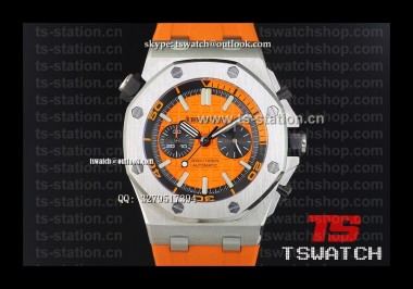 AP18998 - Royal Oak Offshore Diver Chronograph Orange SS RU Japan Quartz