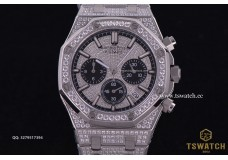 AP20975 - AP ROO Chrono Full Diamond Bracelet Japan Quartz