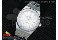 Royal Oak 37mm 15450 SS Silver Dial on SS Bracelet A3120